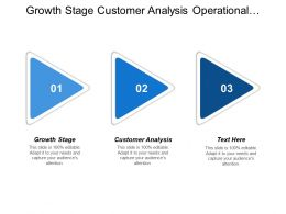 Growth Stage Customer Analysis Operational Plans Adjust Necessary Cpb