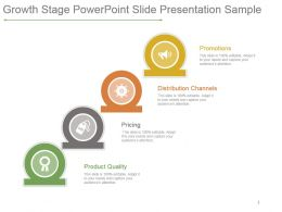 Growth Stage Powerpoint Slide Presentation Sample