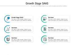 Growth Stage SAAS Ppt Powerpoint Presentation Portfolio Gallery Cpb