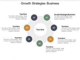 Growth Strategies Business Ppt Powerpoint Presentation Inspiration Layouts Cpb