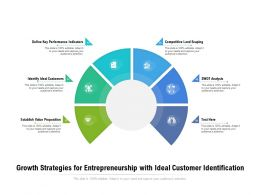 Growth Strategies For Entrepreneurship With Ideal Customer Identification