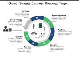 Growth Strategy Business Roadmap Target Customers Agile Strategies Cpb