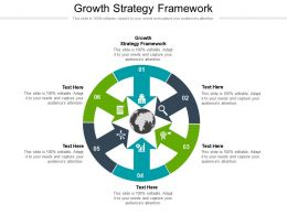 Growth Strategy Framework Ppt Powerpoint Presentation Portfolio Model Cpb