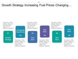 Growth Strategy Increasing Fuel Prices Changing Customer Needs