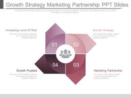 Growth Strategy Marketing Partnership Ppt Slides