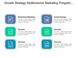 Growth Strategy Multichannel Marketing Program Management Data Management Cpb