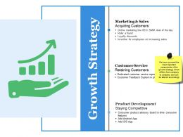 Growth Strategy Ppt Summary Introduction
