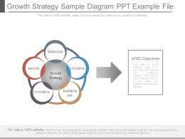 Growth Strategy Sample Diagram Ppt Example File