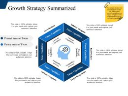 Growth Strategy Summarized Ppt Examples Slides