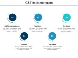 GST Implementation Ppt Powerpoint Presentation File Infographic Template Cpb
