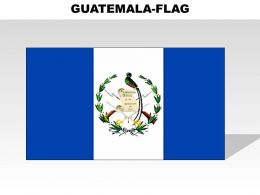 Guatemala Country Powerpoint Flags