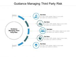 Guidance Managing Third Party Risk Ppt Powerpoint Presentation Summary Slide Download Cpb