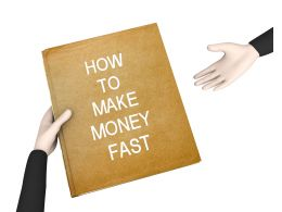 Guide Of Make Money Stock Photo