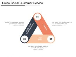 Guide Social Customer Service Ppt Powerpoint Presentation Layouts Influencers Cpb