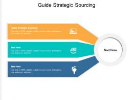 Guide Strategic Sourcing Ppt Powerpoint Presentation Layouts Portfolio Cpb