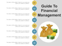 Guide To Financial Management Ppt Design