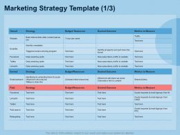 Guide To International Expansion Strategy Business Marketing Strategy Template Paid Ppt Guidelines