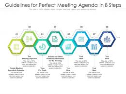 Guidelines For Perfect Meeting Agenda In 8 Steps