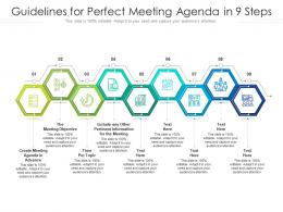 Guidelines For Perfect Meeting Agenda In 9 Steps