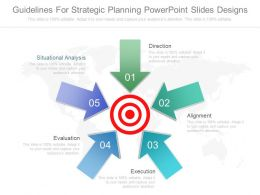 Guidelines For Strategic Planning Powerpoint Slides Designs