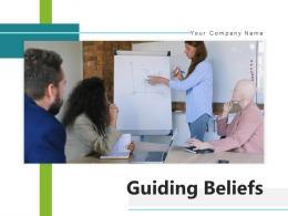 Guiding Beliefs Enterprise Management Technology Deployment Environment
