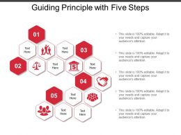 Guiding Principle With Five Steps