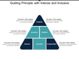 Guiding Principle With Intense And Inclusive