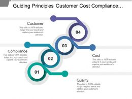Guiding Principles Customer Cost Compliance Quality
