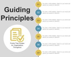 Guiding Principles Ppt Background Images