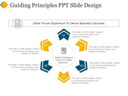 Guiding Principles Ppt Slide Design