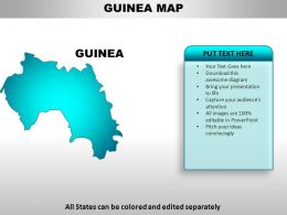 Guinea Country PowerPoint Maps