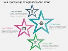 Gv Four Star Design Infographics And Icons Flat Powerpoint Design