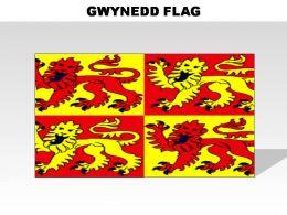 Gwynedd Country Powerpoint Flags