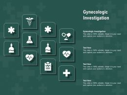 Gynecologic Investigation Ppt Powerpoint Presentation Professional Elements
