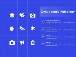 Gynecologic Pathology Ppt Powerpoint Presentation Summary Background