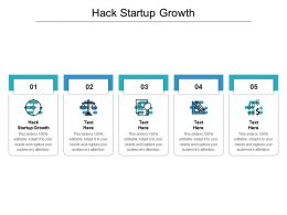 Hack Startup Growth Ppt Powerpoint Presentationmodel Brochure Cpb