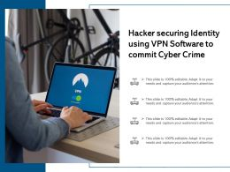 Hacker Securing Identity Using VPN Software To Commit Cyber Crime