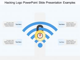 Hacking Logo Powerpoint Slide Presentation Examples