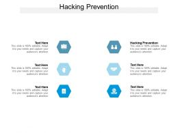 Hacking Prevention Ppt Powerpoint Presentation Styles Topics Cpb