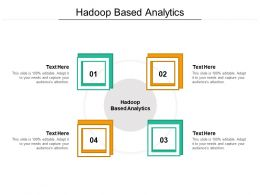 Hadoop Based Analytics Ppt Powerpoint Presentation Pictures Clipart Images Cpb
