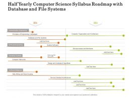 Half Yearly Computer Science Syllabus Roadmap With Database And File Systems