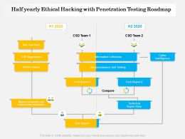 Half Yearly Ethical Hacking With Penetration Testing Roadmap