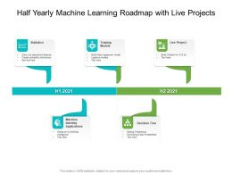 Half Yearly Machine Learning Roadmap With Live Projects