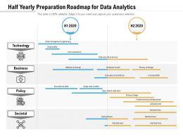 Half Yearly Preparation Roadmap For Data Analytics