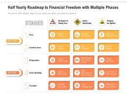 Half Yearly Roadmap To Financial Freedom With Multiple Phases
