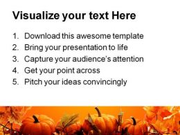 Halloween Nature Abstract PowerPoint Template 0610  Presentation Themes and Graphics Slide03