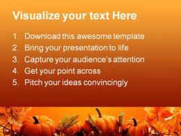 Halloween Nature Abstract PowerPoint Template 0610  Presentation Themes and Graphics Slide02