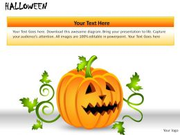 Halloween Powerpoint Presentation Slides
