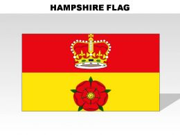 Hampshire Country Powerpoint Flags