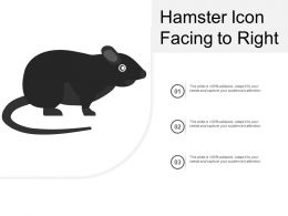 Hamster Icon Facing To Right